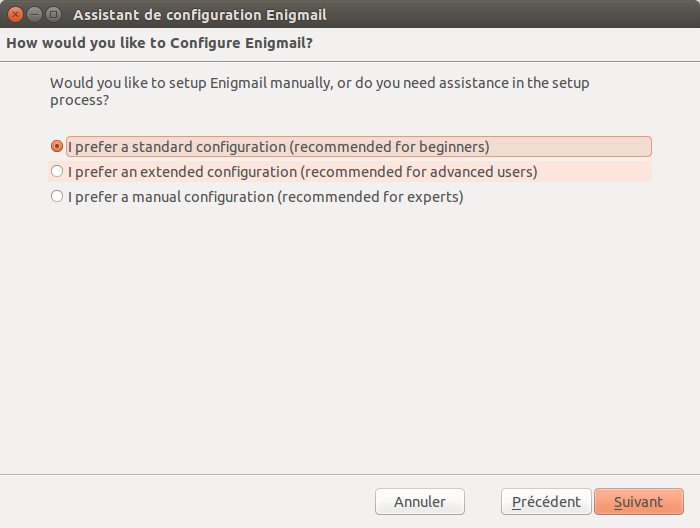 7 assistant configuration enigmail standard configuration beginner