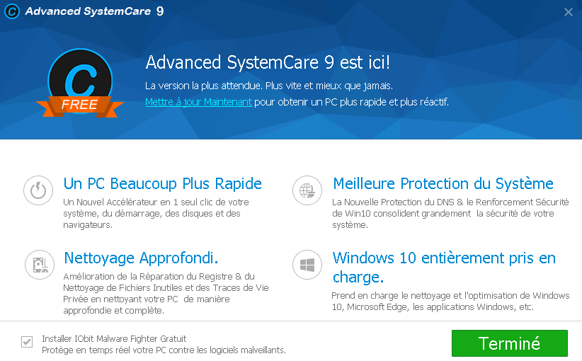 smart defrag 3 1 advanced system care 9 windows 10