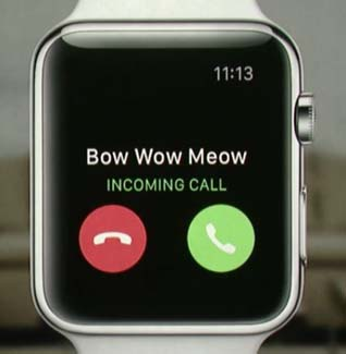 test gps apple watch paris (incoming call)