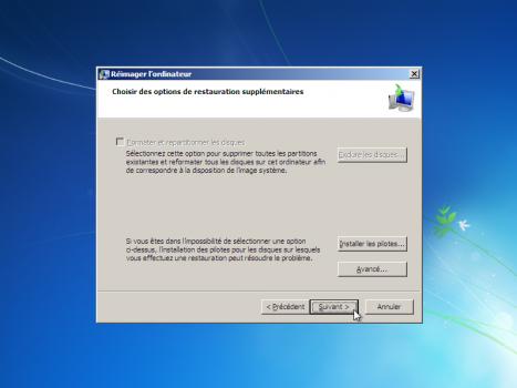 windows 10 reboot choisir image a restaurer suivant