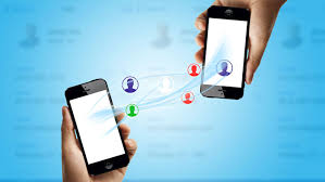 transferer contacts smartphone